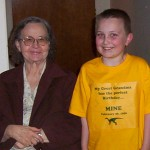 Grandma Schulenberg and Christopher