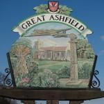 Great Ashfield gate