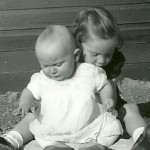 Marlyce Schulenberg & Debbie Schulenberg - 1953