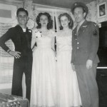 George & Evelyn Hushman, Collene & Allen Spencer