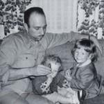 Dad, Caryn, & Cheryl