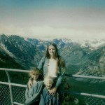Caryn, Corrie, & Amy at Beartooth Pass abt 1980