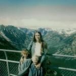 Caryn, Corrie, & Amy at Beartooth Pass abt 1980