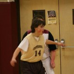 Josh guarding in basketball