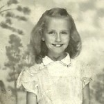 My mom - 8 years old