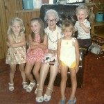 Amy, Corrie, Great Great Grandma Knox, Machelle and Barry