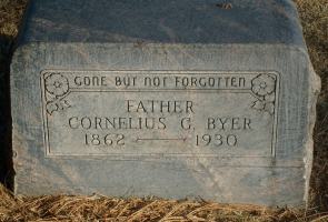 Grave of Cornelius George Byer