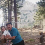 Dad and Michelle at Mt Rushmore