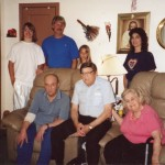 Cody, Bill, Kristin, Maureen, Dad, Uncle Bill, & Mom