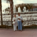 Grandma Byer and Aunt Jeanette