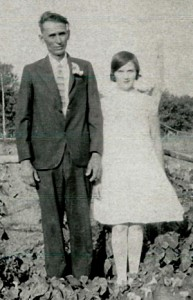 Grandpa and Grandma Byer as a young couple