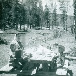 Picnic on the mountain - May 1960
