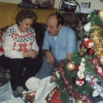 Mom & Dad on Christmas