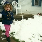 Shai and the little snowman
