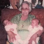 Grandma Byer, Mindy and Missy Grosvenor