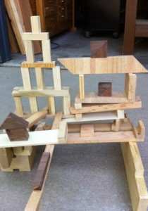 Daniel's Scrap Wood Tower