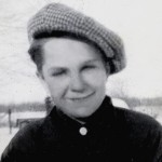 Allen Spencer as a boy