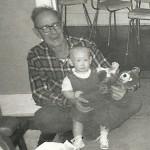 Grandpa's baby boy