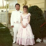 Kevin & Corrie - first prom