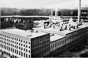 Falls Paper Mill in 1910