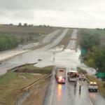 I-25 flooding near Loveland