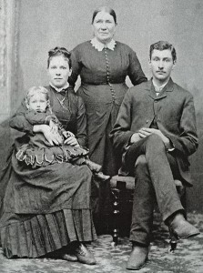Lydia Spencer, and daughter Teressa's family