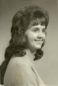 Aunt Sandy's graduation picture