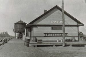 Holyoke, Minnesota station