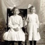 Bertha & Elsa Schumacher a little older