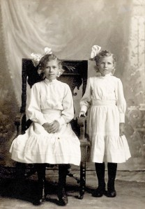 Bertha & Elsa Schumacher a little older
