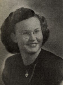 Joann's yearbook picture