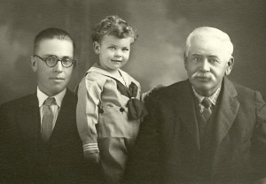 The Three Eugenes - Father, Son, Grandson