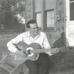 Uncle Bill playing the guitar