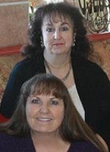 Cheryl and Caryn