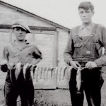 Dad & Uncle Bill with fish
