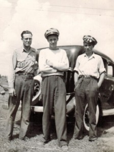 Uncle Bill, Bob Croft, and Dad