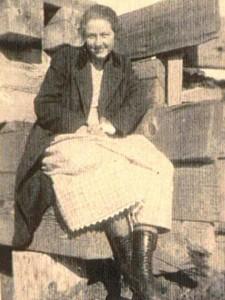 Aunt Mary-Carolyn Ingalls look-alike