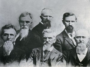Group of six Knox brothers