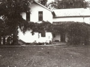 House near Belle Chester where Mina, Fred, Bertha and Elas were born