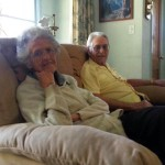 Aunt Evelyn & Uncle George Hushman