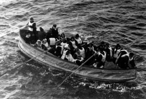 Last Ttianic Lifeboat launched