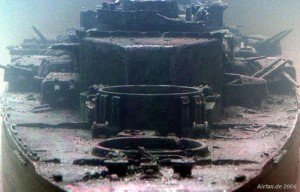 The Wreckage of the Bismarck