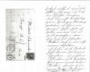 Letter from Henriette to Mina 2