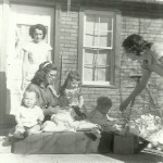 Virginia Beadle, Janette Byer, Forrest Beadle, Larry Wayne Byer, Ellen Johnson, Elmer Johnson, Deloris Johnson