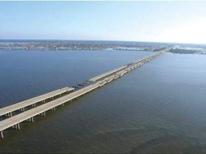 Lake Pontchartrain after Hurricane Katrina