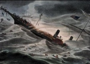 SS Central America sinks