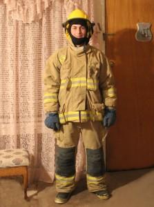 Firefighter Josh