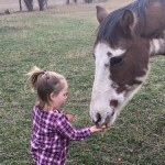 Reagan and horsey