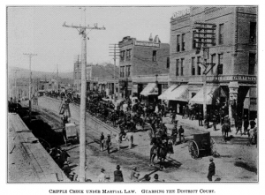 Cripple Creek Martial Law
