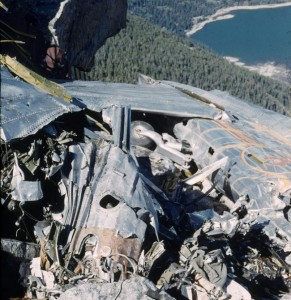 Mt Moran Plane Crash